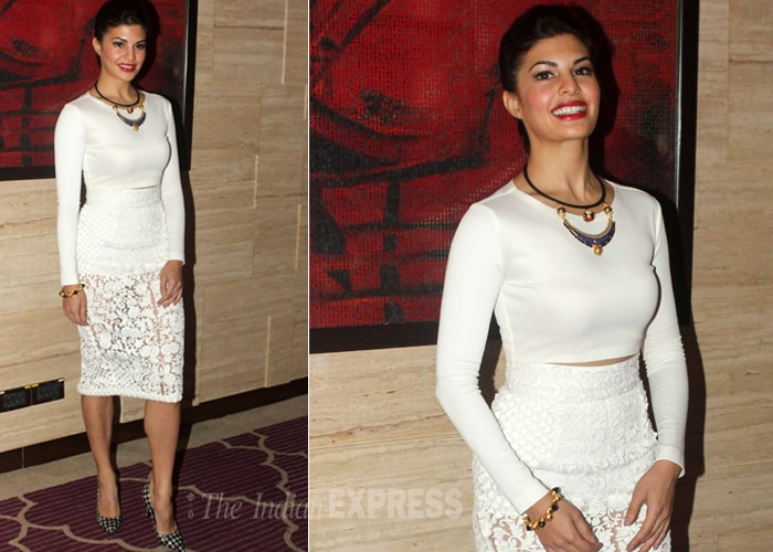 Jacqueline Fernandez Goes Out for Magazine Cover Photoshoot
