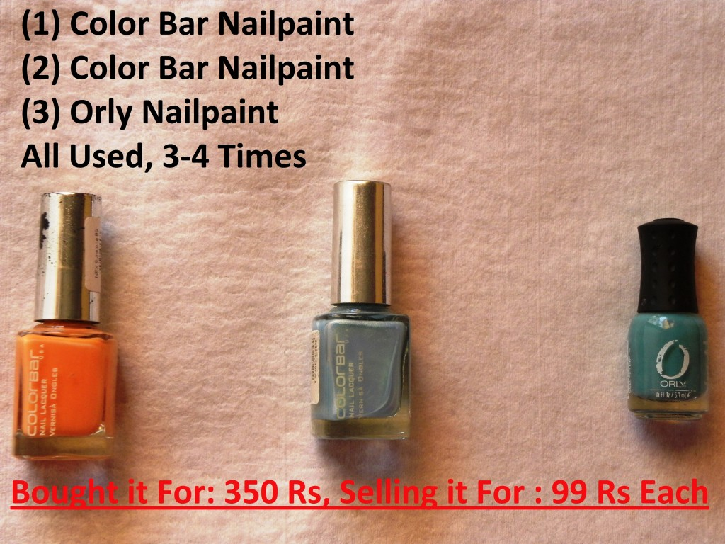 Colorbar and Orly Nailpaints for sale