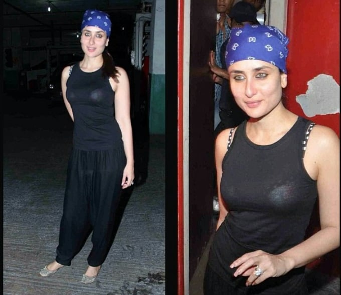 Kareena Kapoor's Fashion Disaster at Screening of Gori Tere Pyar Mein