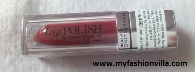 Maybelline New York Lip Polish