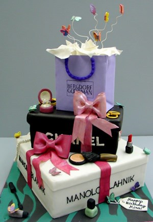 Fashionista Cake for fashion girl