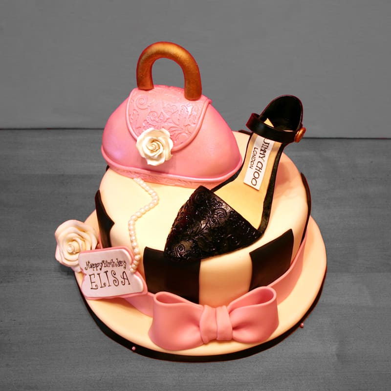 High Heels Fashionista Cakes