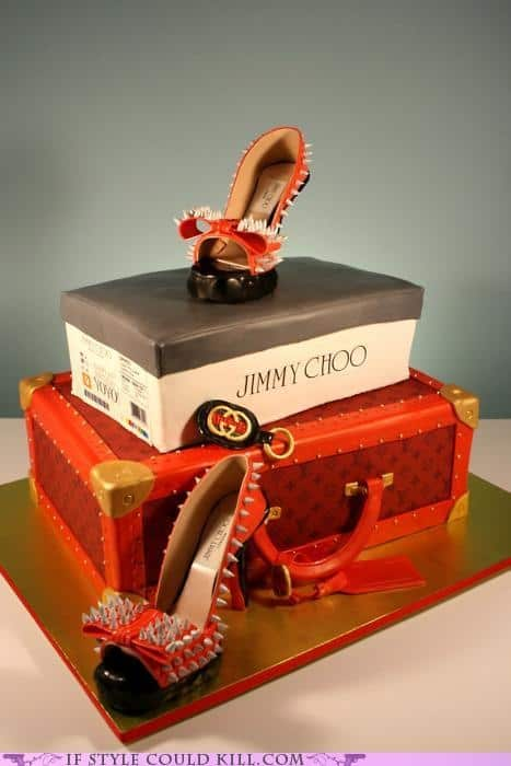 Jimmy Choo Fashionista Cake