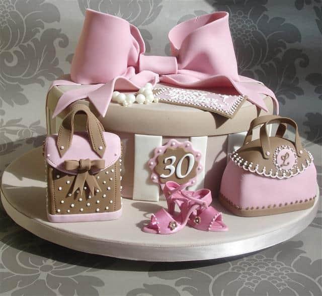Pink Fashionista Cake