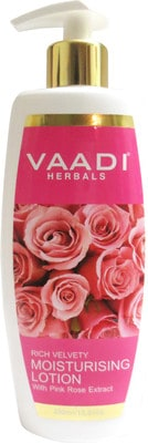 Vaadi Moisturising Lotion with Pink Rose Extract