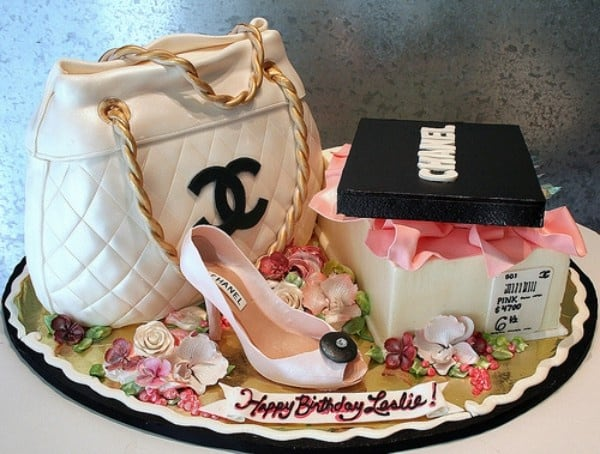 fashion girl cake