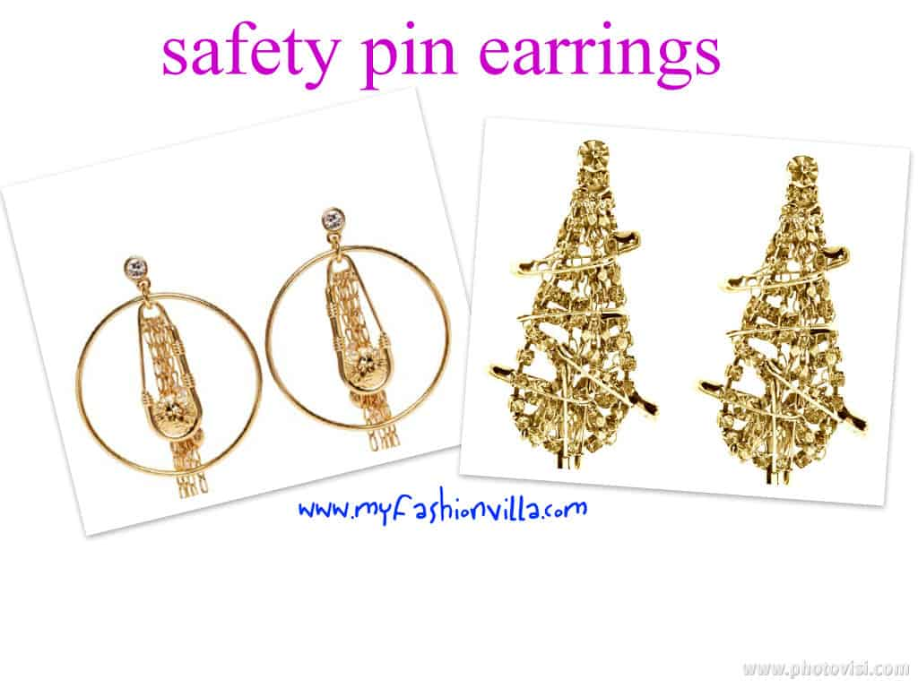 Safety pin Ear-rings