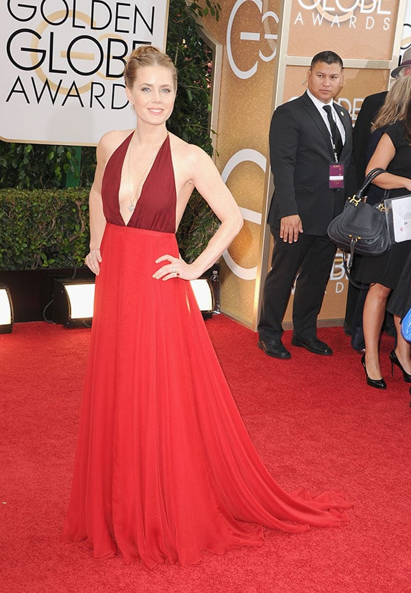 Amy Adams at Golden Globes Awards 2014