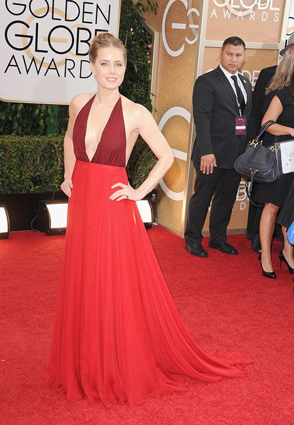 Amy Adams at Golden Globes Awards 2014
