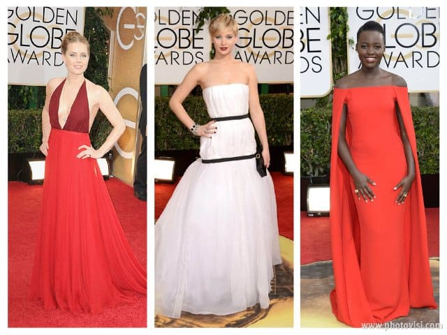Golden Globes Awards 2014: Five Best Dressed Red Carpet Looks