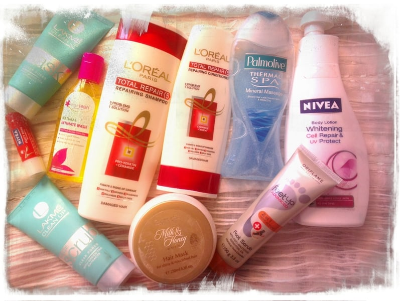 My Favorites – Skincare & Hair care Products from the Month January 2014