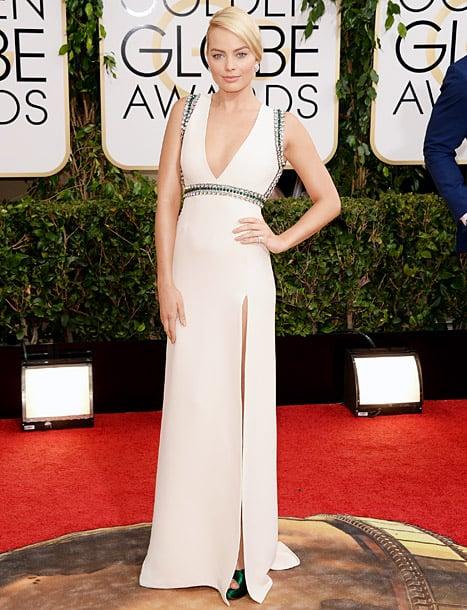Margot Robbie at golden globes 2014