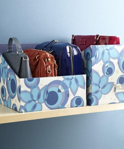 Right Handbag Storage