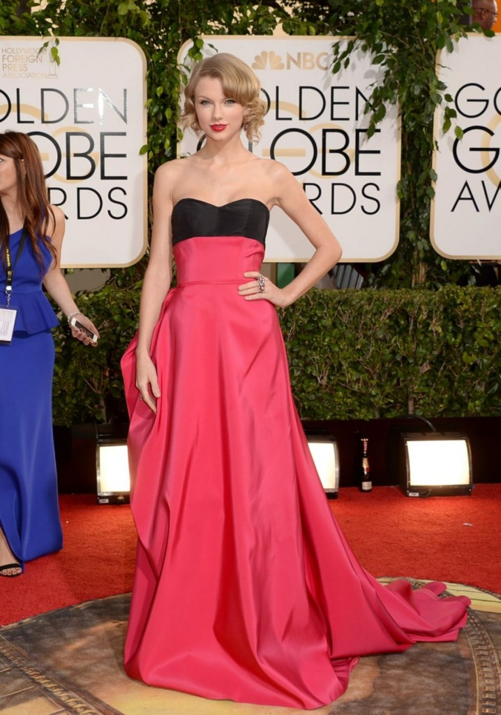 Taylor Swift at Golden Globes Awards 2014