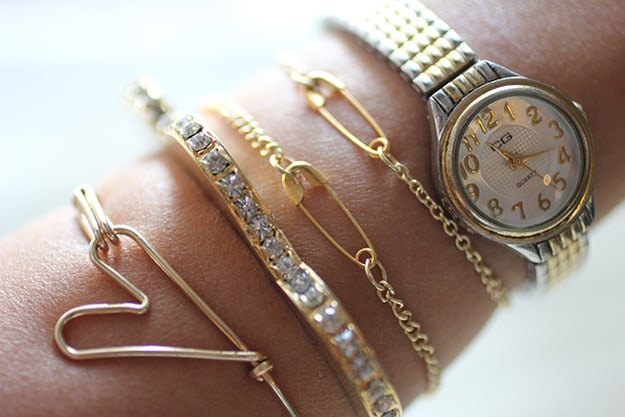 DIY Safety Pin Jewelry