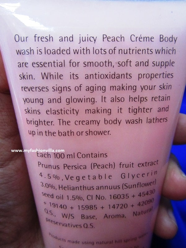 The Nature's Co Body Wash