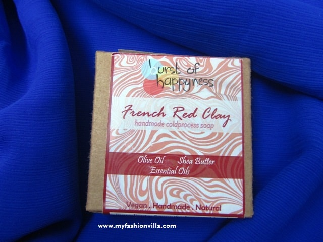 Burst of Happyness soap review