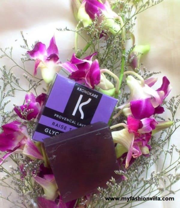 Kronokare Provencal Lavender Glycerine Soap