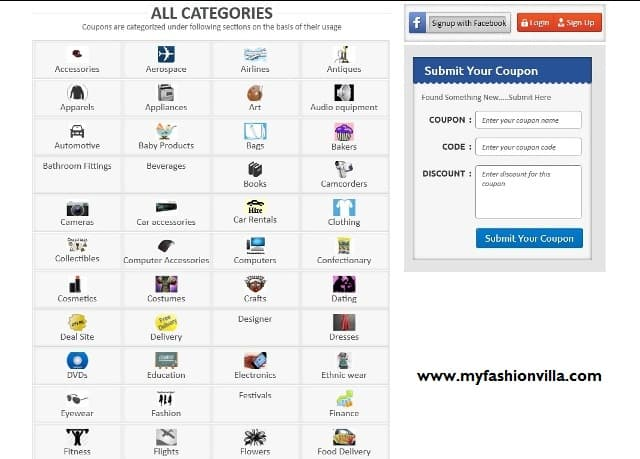 Zoutons Categories