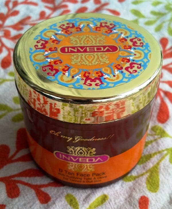 Inveda D Tan Face Pack Review