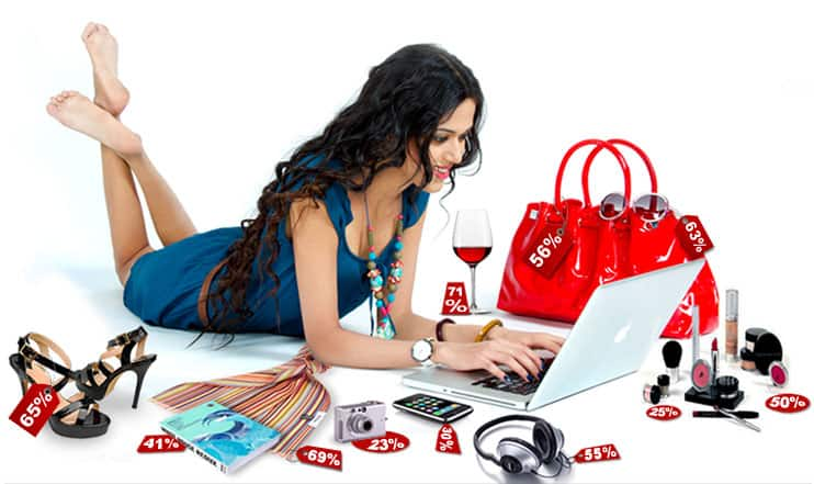 Online shopping to save time and money