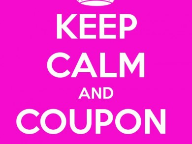 keep calm and coupon on