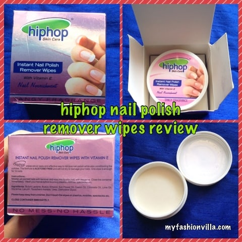 Hiphop Instant Nail Polish Remover Wipes Review