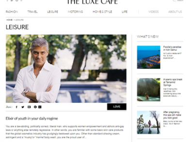 the luxe cafe portal