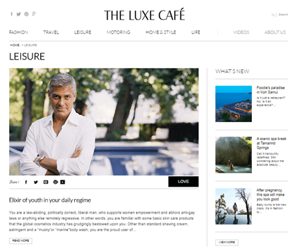 The Luxe Cafe – India's Most Promising Luxury Portal
