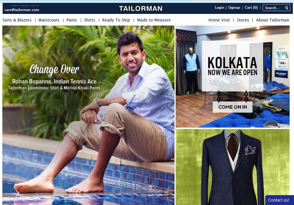 Tailorman: An Ultimate Online Destination To Get Customized Outfits
