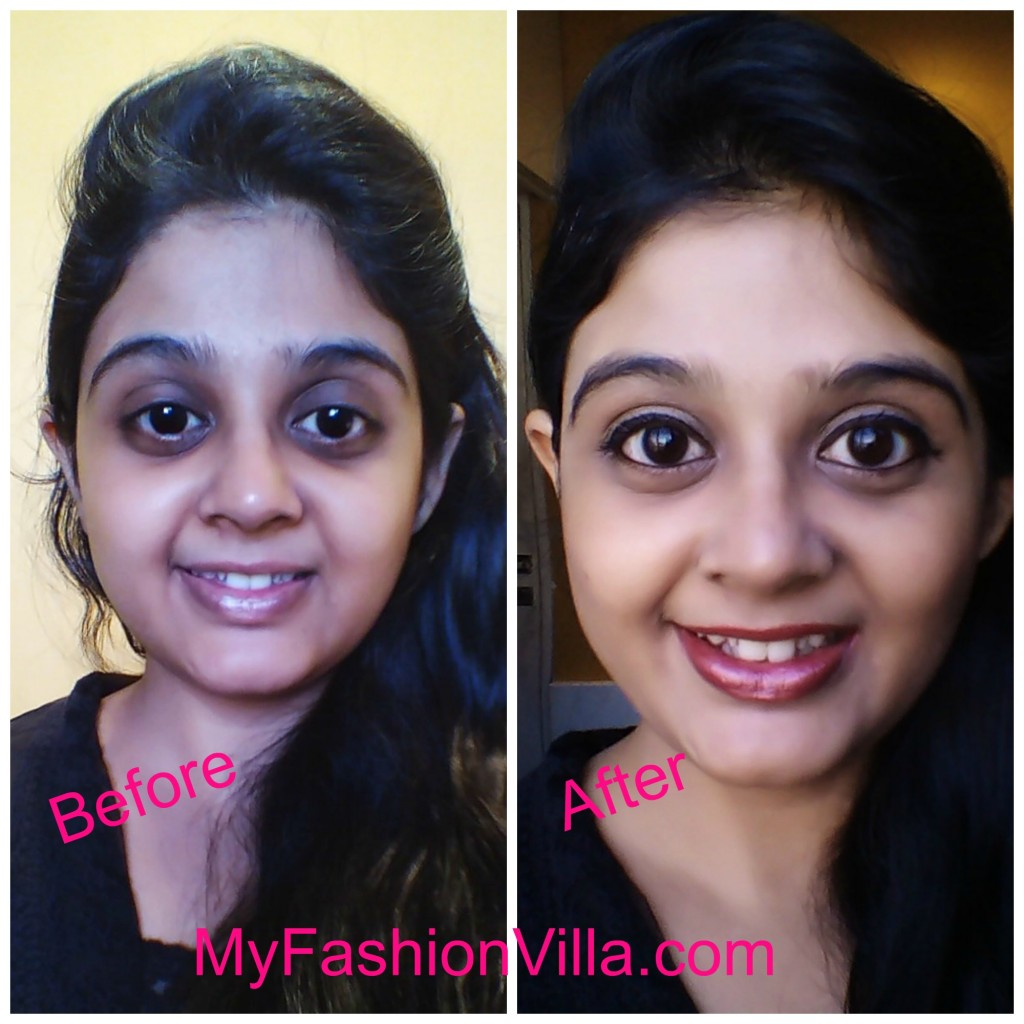 Before After LOTD Makeup Tutorial