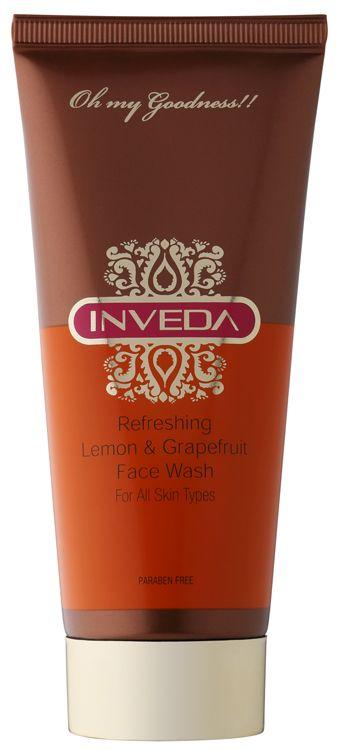 Inveda Refreshing Lemon & Grapefruit Face Wash Review