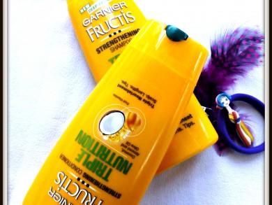Garnier Fructis Triple Nutrition Shampoo and Conditioner
