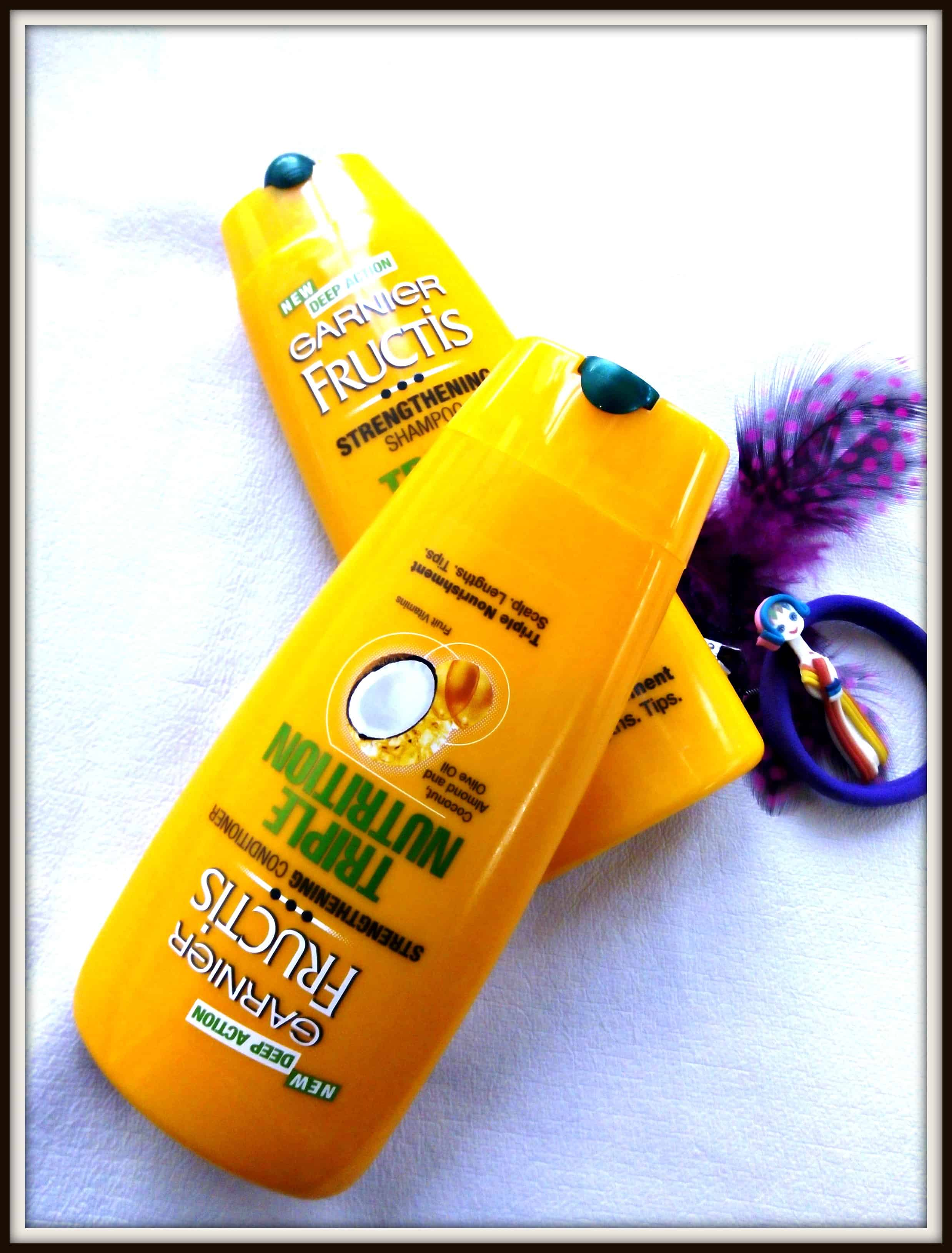 Garnier Fructis Triple Nutrition Shampoo and Conditioner Review