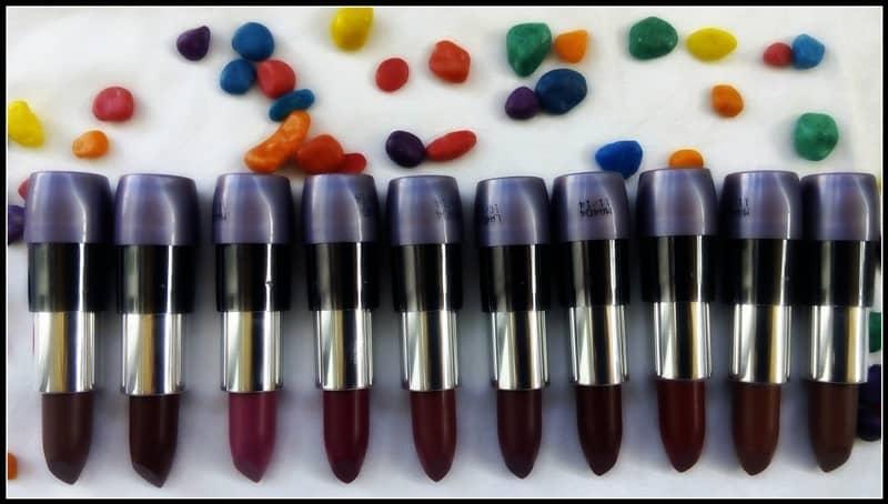 Oriflame TheOne Matte Lipsticks Shades