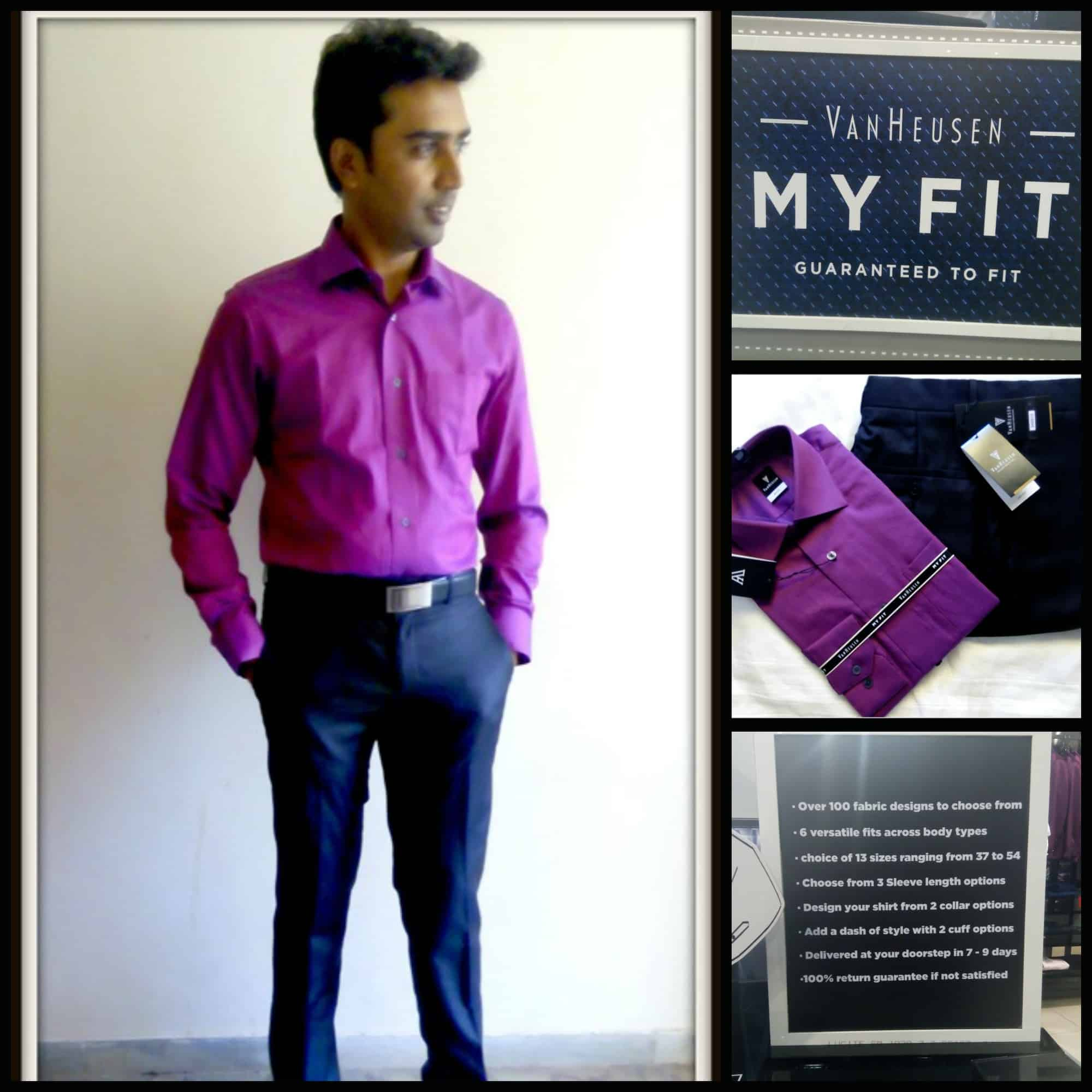 Van Heusen MYFIT for Men – The Ultimate Solution to Get Perfectly Fitted Formals