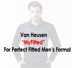 Van Heusen MYFIT for Men