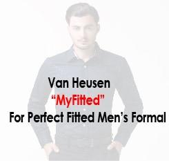 Van Heusen MYFIT for Men