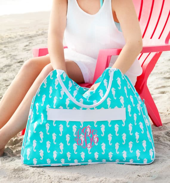 Monogrammed Bags Give a Personal Touch