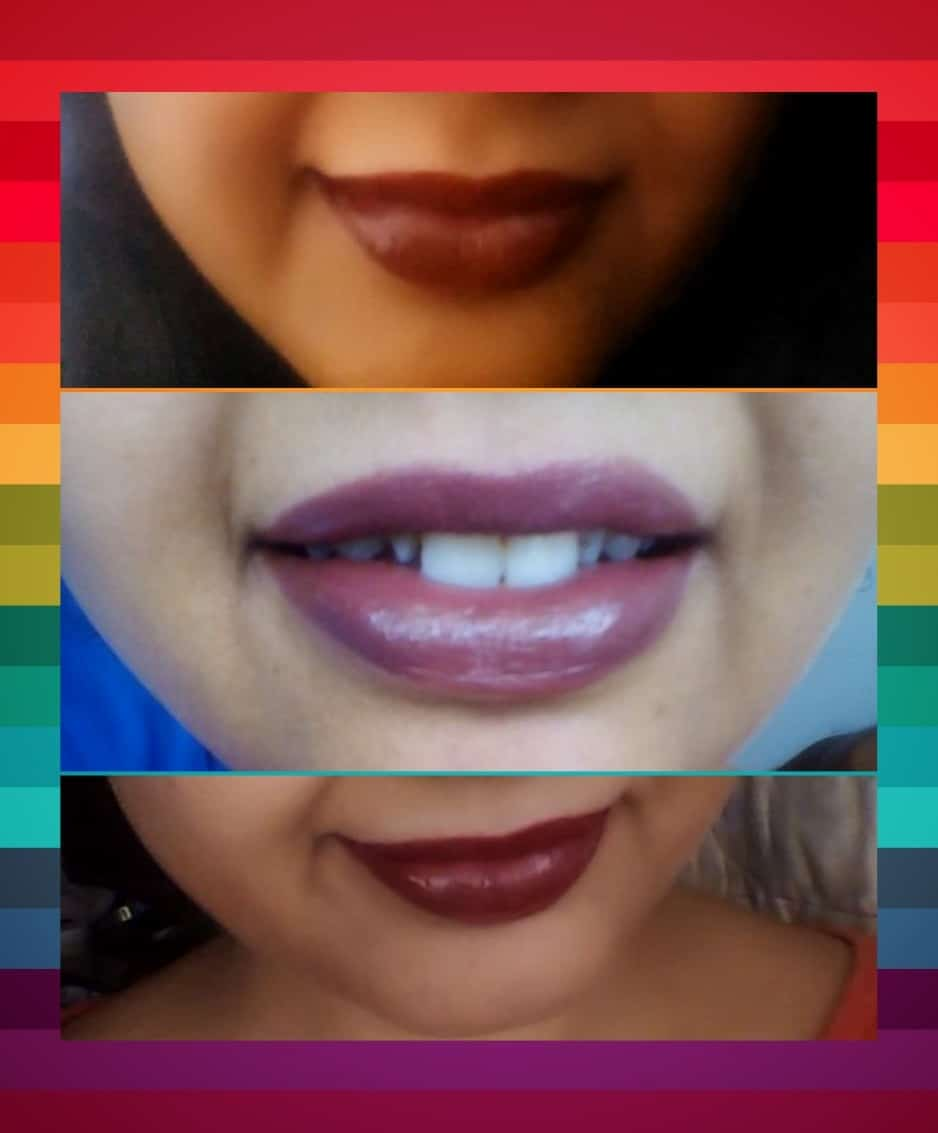 3 Gorgeous Brown Lipsticks from Oriflame The One Matte Range