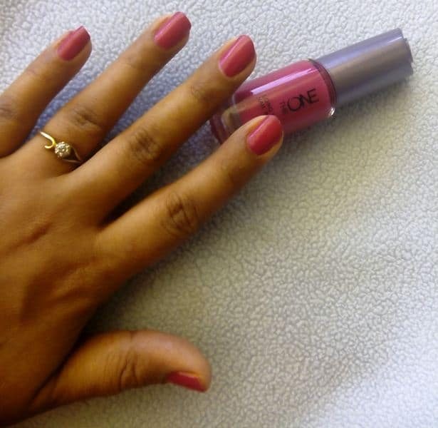 Oriflame The One Nail Paint Review