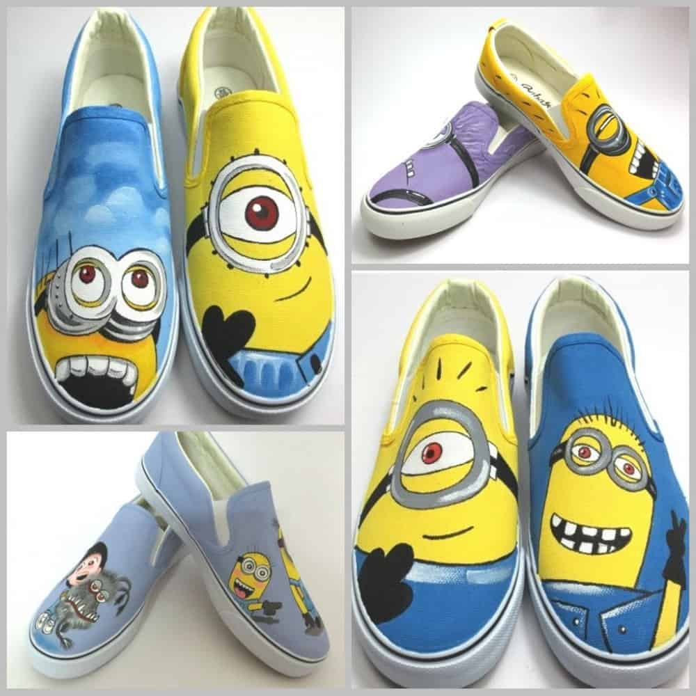 Minion Shoes for Men