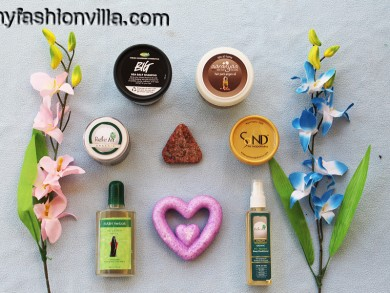 My Organic Skincare Routine HG Products