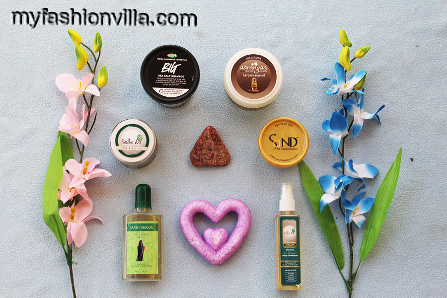 My Organic Hair Care Routine HG Products