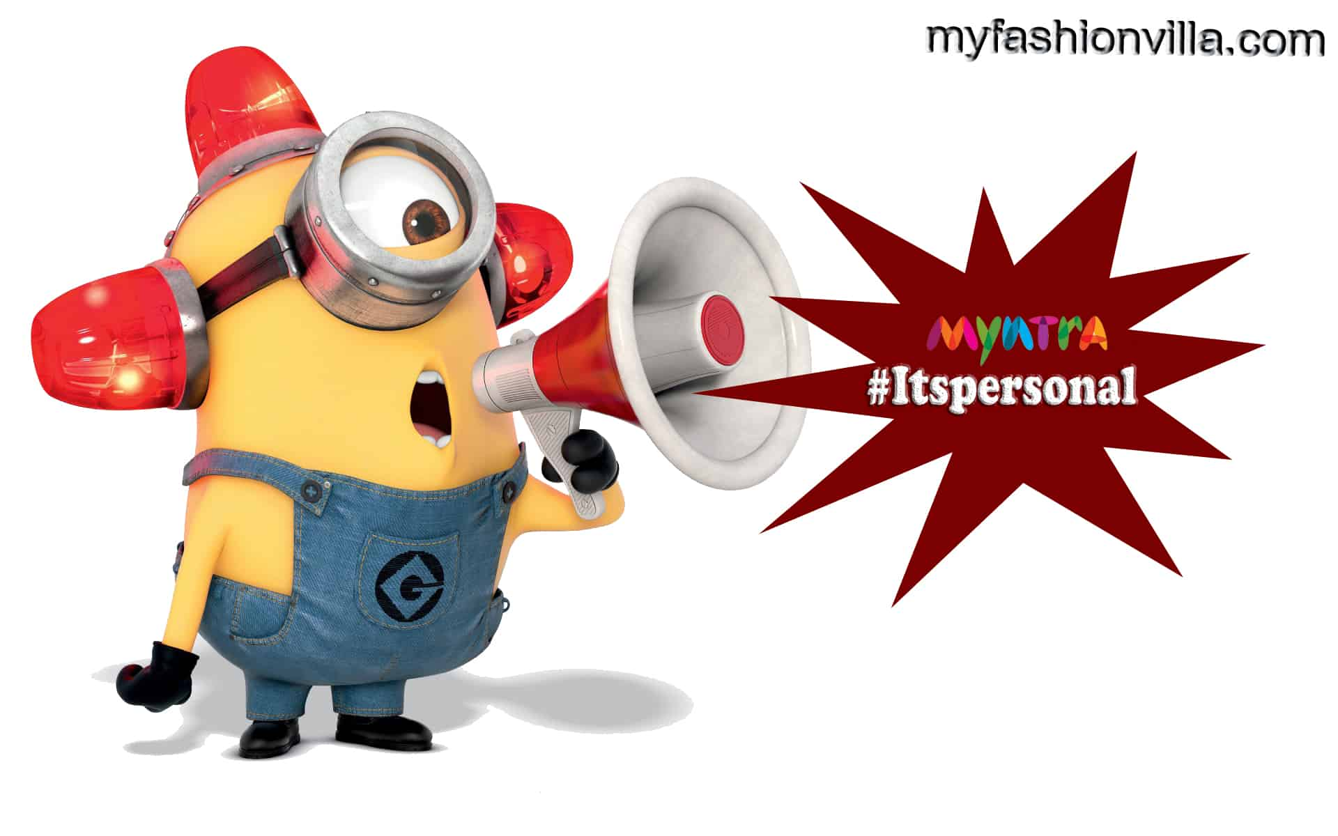 OMG!!! I Spotted Minions Using Myntra App