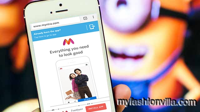 Minions are using Myntra