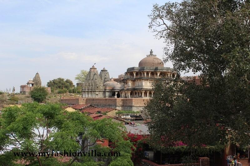 Temple at kumbhalgarh Fort