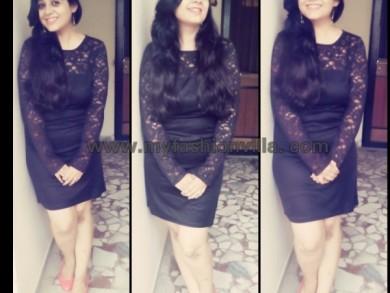 OOTD Wearing LBD (Little Black Dress) from Limeroad