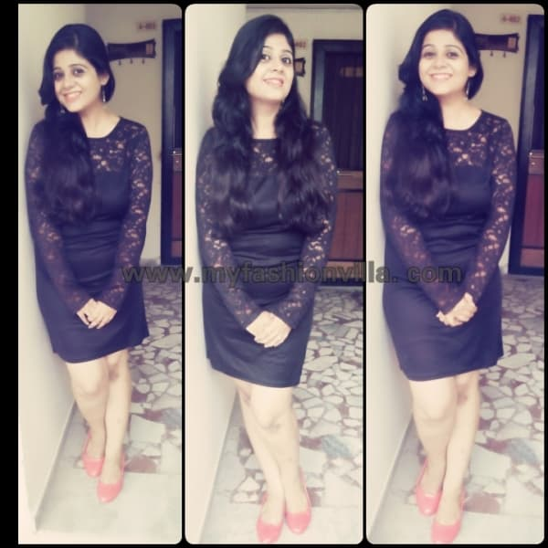 OOTD  Wearing LBD (Little Black Dress) from Limeroad