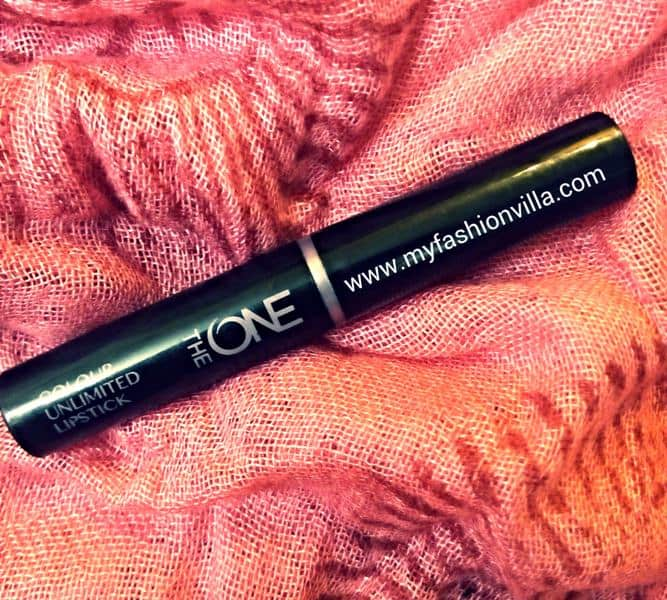 Oriflame The One Colour Unlimited Lipstick in Mocha Intensity Review